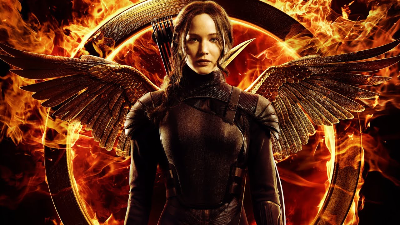 Katniss Evergreen (Jennifer Lawrence), l'héroïne de Hunger Games, la révolte