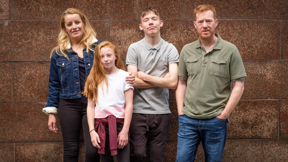 La famille de Sorry We Missed You de Ken Loach (2019)